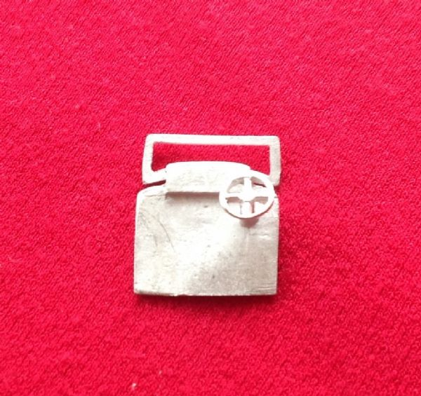 DINKY TOYS REPRODUCTION 22A SPORTS CAR Windscreen / Dash / Steering Wheel Unit